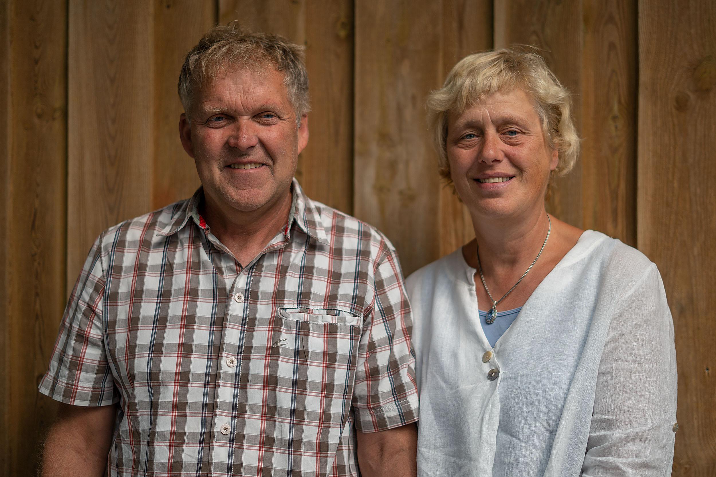 Susanne und Hartwig Feddersen, Ihre Gastgeber